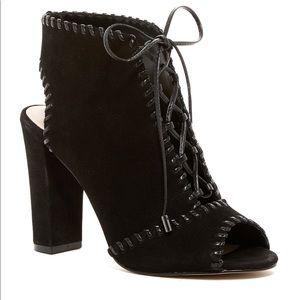 Enzo Angiolini Vonessa Leather Booties EUC